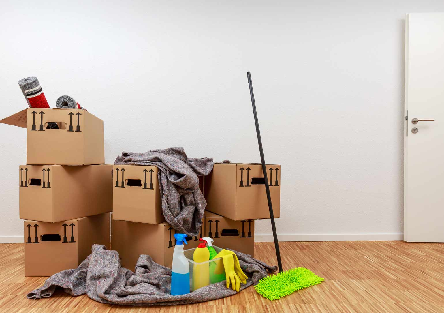 End of tenancy house clearance service in northampton